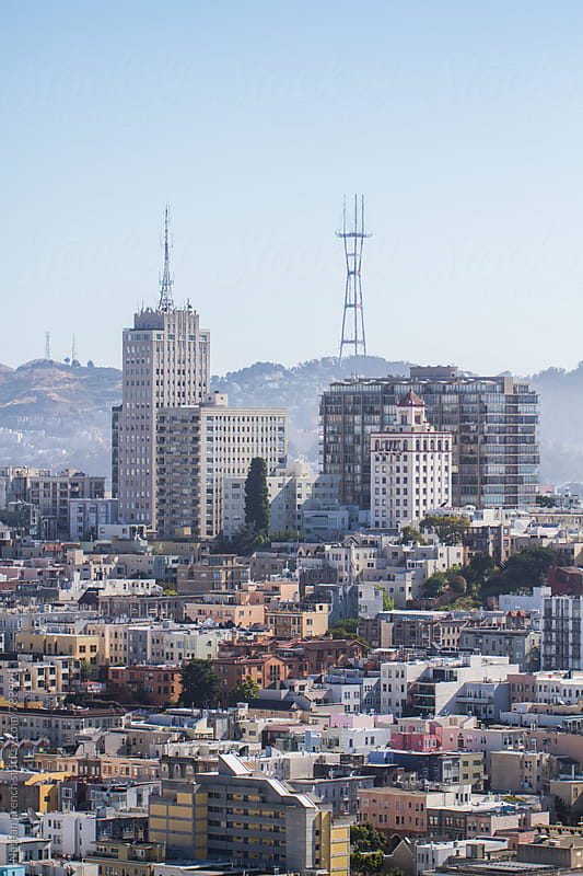 San Francisco Skyline by Nathan French for Stocksy United
