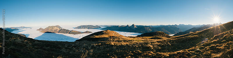 Panorama from Fronalpstock by Peter Wey for Stocksy United