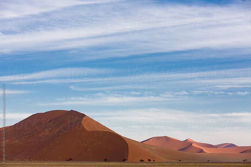 Namib Desert Dunes by Fotografie Daniel Osterkamp for Stocksy United