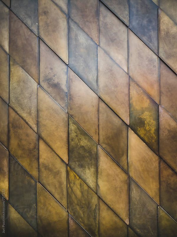 brown tiles by Juri Pozzi for Stocksy United