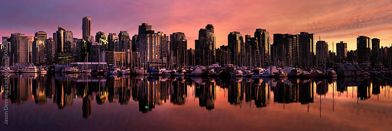 Downtown Vancouver, Canada by Jason Denning for Stocksy United