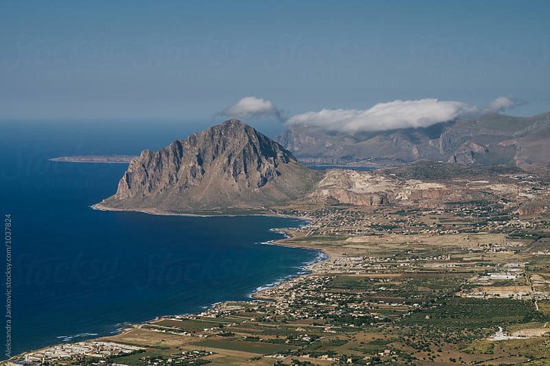 Landscape, Northern Sicily by Aleksandra Jankovic for Stocksy United
