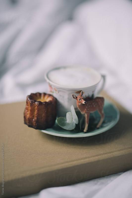 Breakfast in the bed by Török-Bognár Renáta for Stocksy United