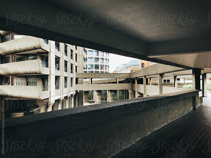 Brutalist 1960s London Architecture by VISUALSPECTRUM for Stocksy United