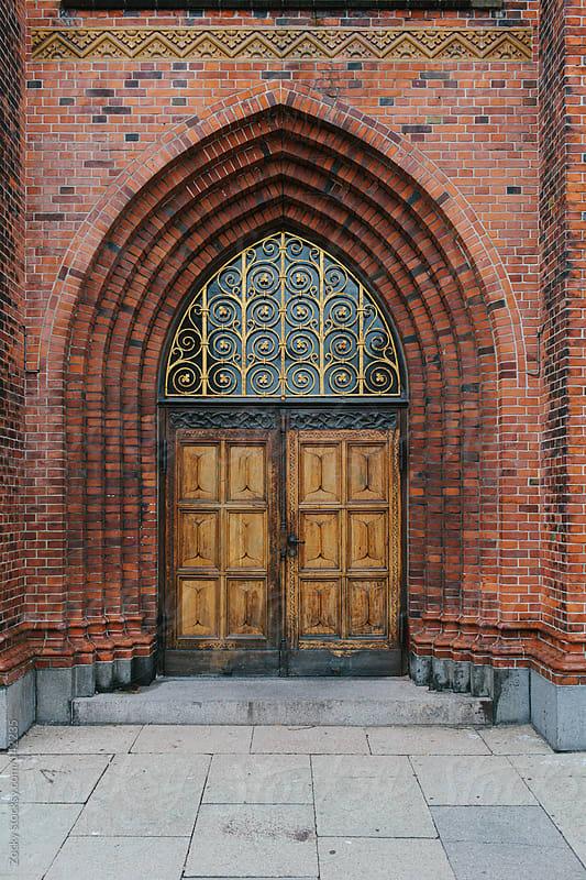 Beautiful church door by Zocky for Stocksy United