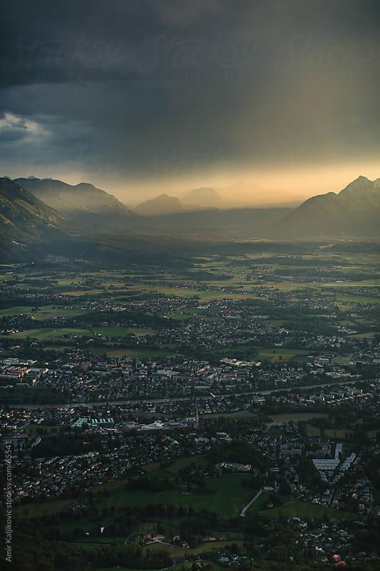 Landscape of Salzburg and Bavaria by Amir Kaljikovic for Stocksy United