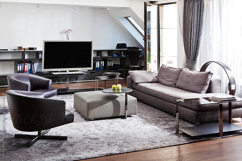 Modern flat by Aleksandar Novoselski for Stocksy United