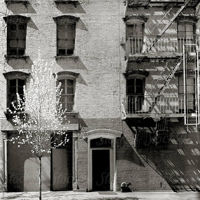 Typical Residential Building, Midtown East, New York by Joselito Briones for Stocksy United