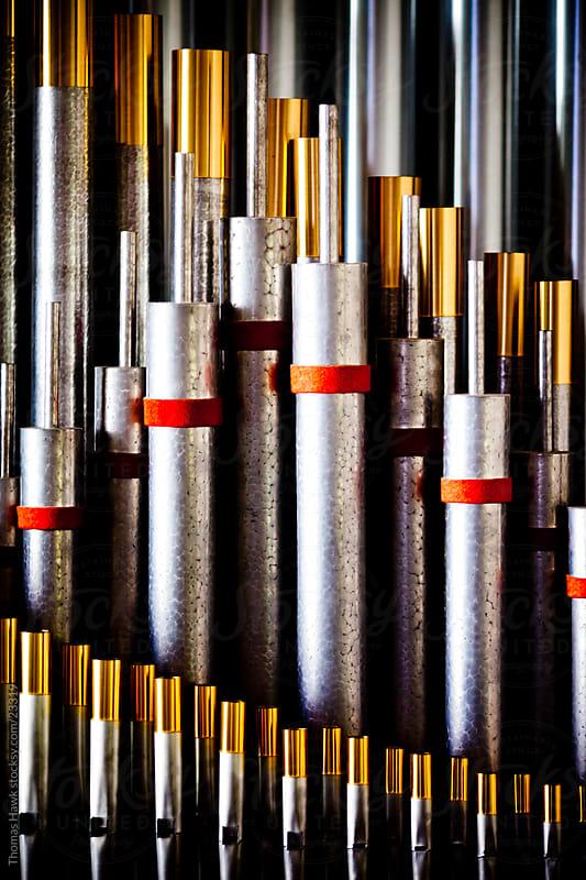 Organ Pipe Detail by Thomas Hawk for Stocksy United