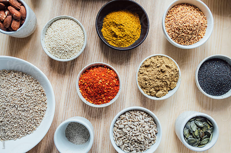Seeds and Spices by Lumina for Stocksy United