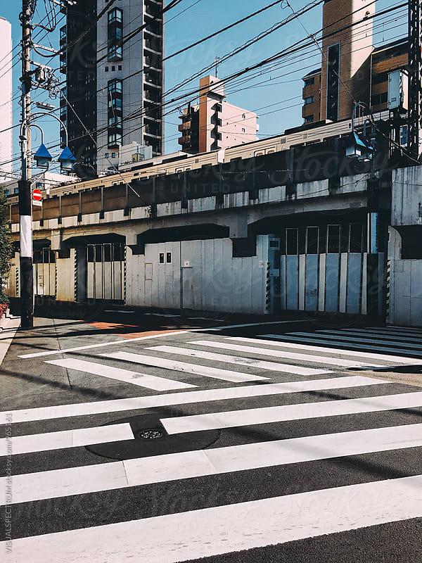 Japan - Zebra Crossings in Tokyo by Julien L. Balmer for Stocksy United