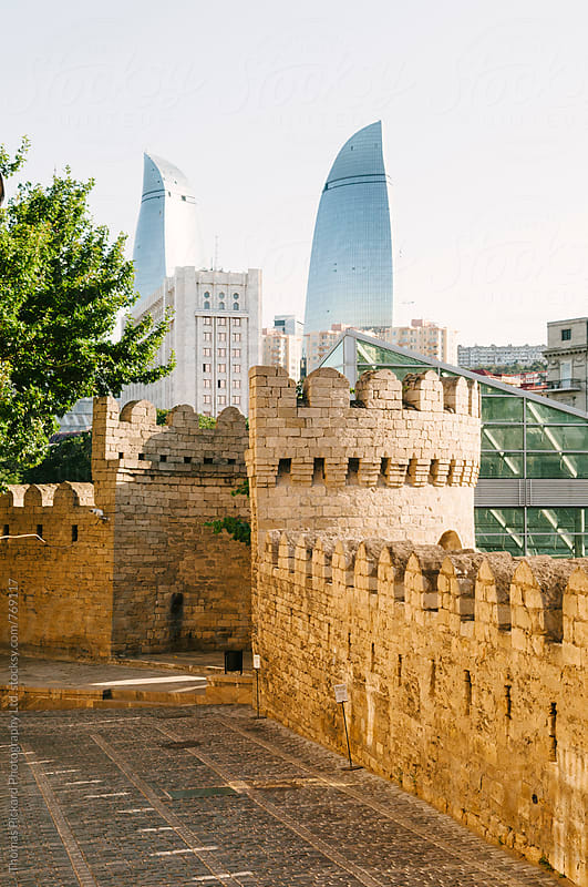 Baku skyline, Azerbaijan. by Thomas Pickard for Stocksy United