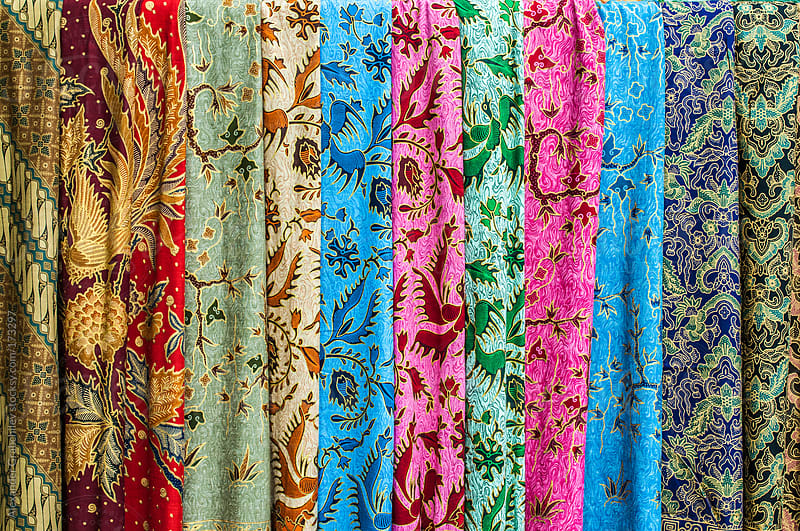 Colorful Sarong Texture by Alexander Grabchilev for Stocksy United