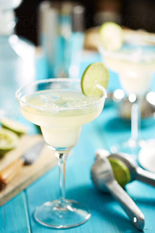Margarita cocktail by Martí Sans for Stocksy United