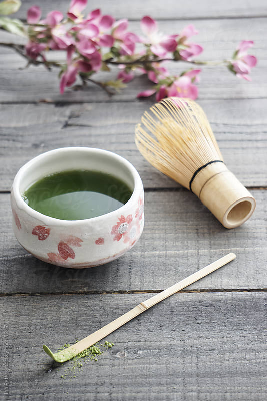 Matcha tea by Ina Peters for Stocksy United