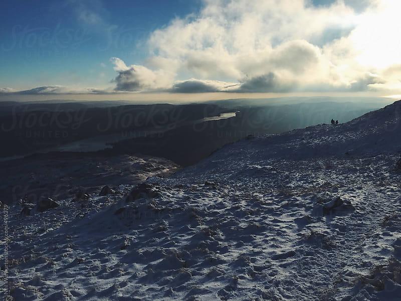 Beautiful winter landscape by Neil Warburton for Stocksy United