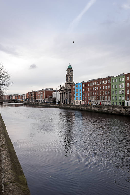 Liffey river, Dublin by Luca Pierro for Stocksy United