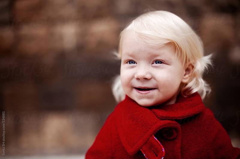 Portrait of little girl by Sveta SH for Stocksy United