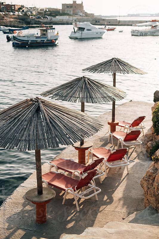 Sun loungers by Sam Burton for Stocksy United
