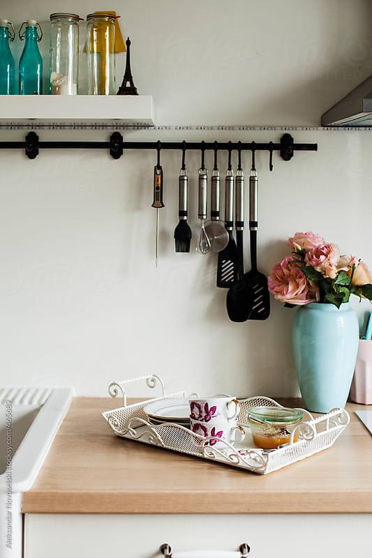 Kitchen detail by Aleksandar Novoselski for Stocksy United
