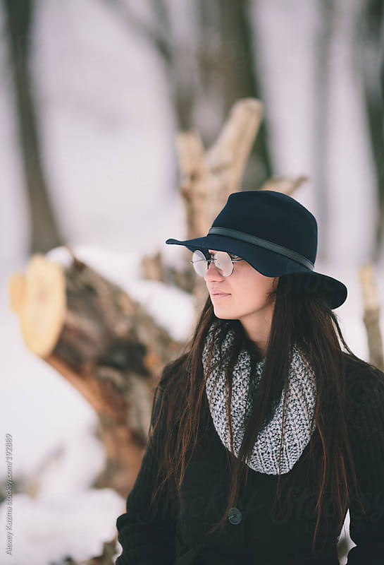 Trendy girl by Alexey Kuzma for Stocksy United