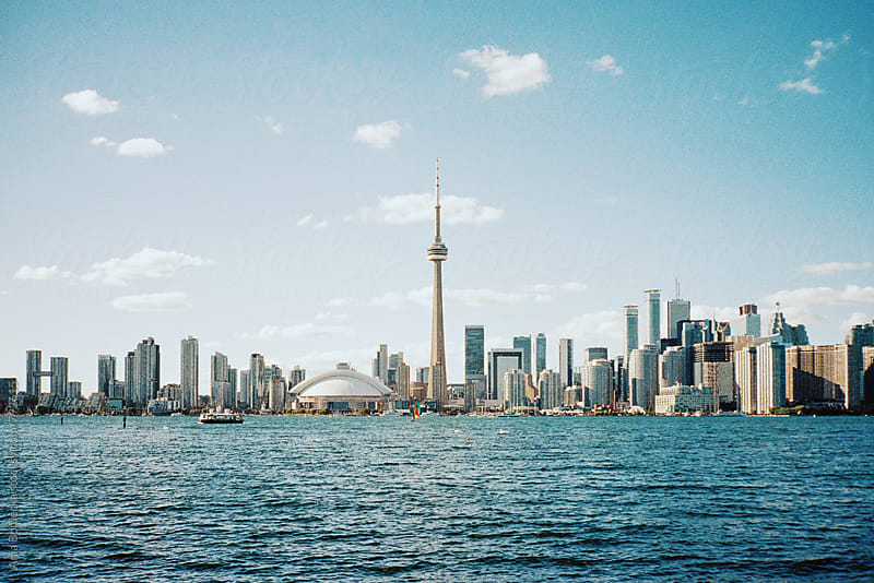 Toronto skyline by Ania Boniecka for Stocksy United
