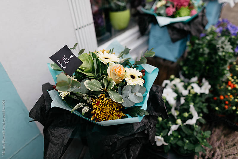 Flower Market flowers by Melanie Riccardi for Stocksy United