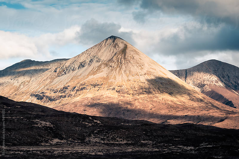 Glamaig Mountain, Isle of Skye by Richard Jones for Stocksy United