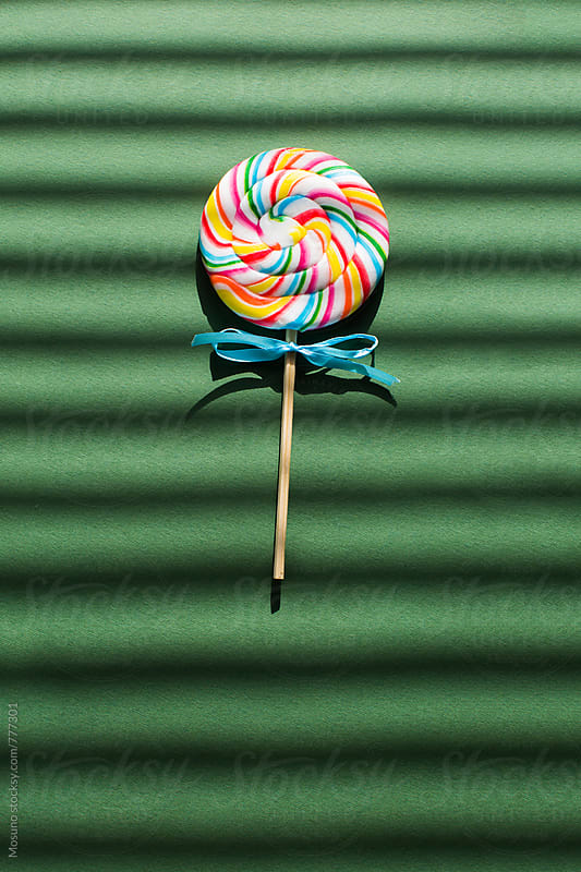 Colourful Lollipop by Mosuno for Stocksy United