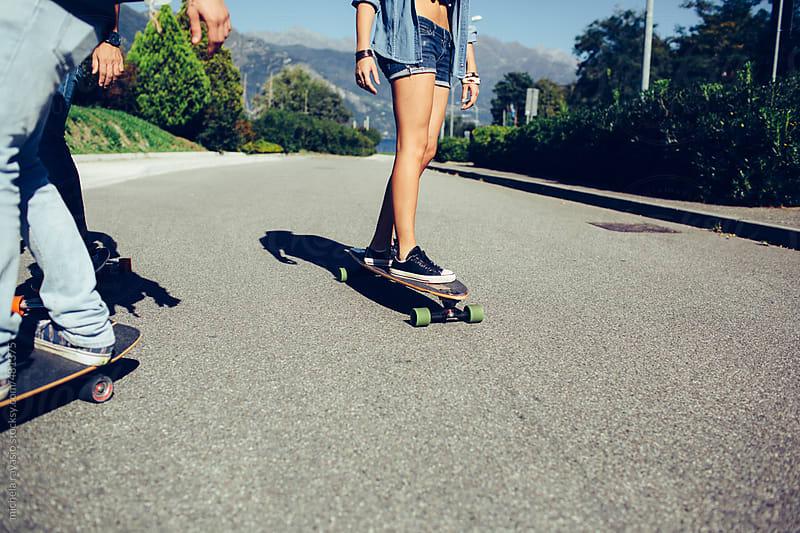 Skateboarding by michela ravasio for Stocksy United