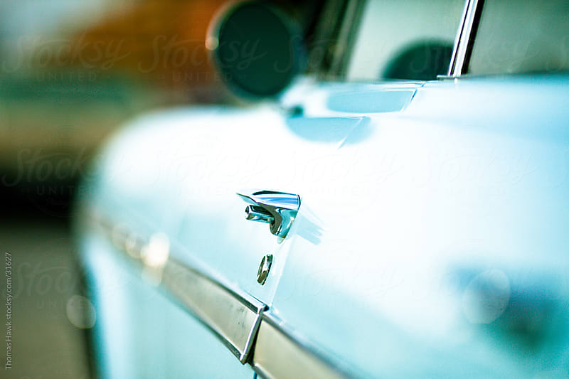 Car Detail by Thomas Hawk for Stocksy United