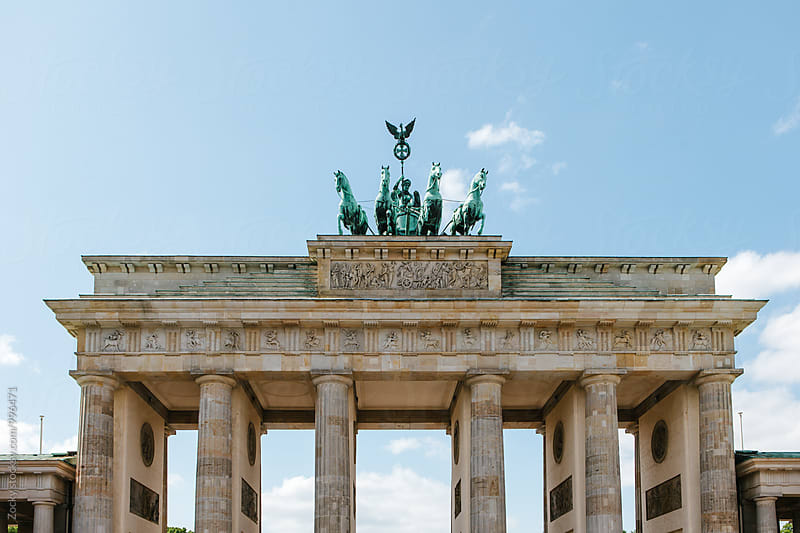 Brandenburg Gate by Zocky for Stocksy United