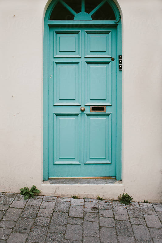 Door in Ireland by Ryan Tuttle for Stocksy United