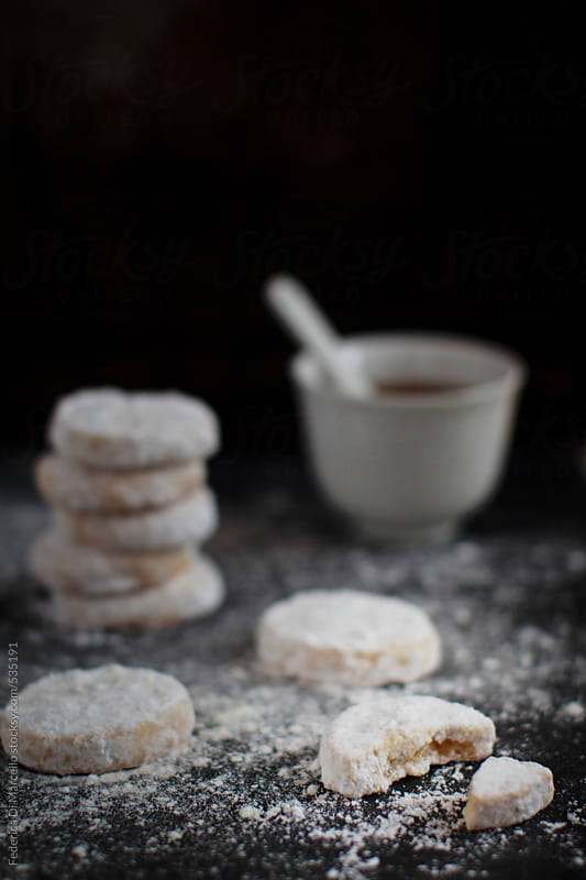 Lemon meltaways cookies  by Federica Di Marcello for Stocksy United