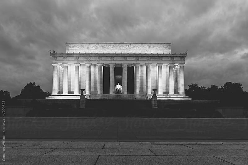 Lincoln Memorial in Washington DC by Cameron Whitman for Stocksy United