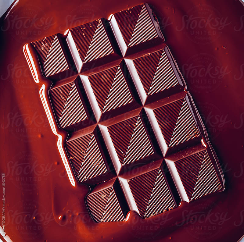 Molten chocolate bar by J.R. PHOTOGRAPHY for Stocksy United
