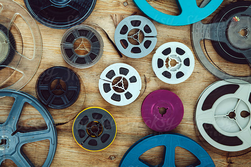 Cinema reels by kkgas for Stocksy United