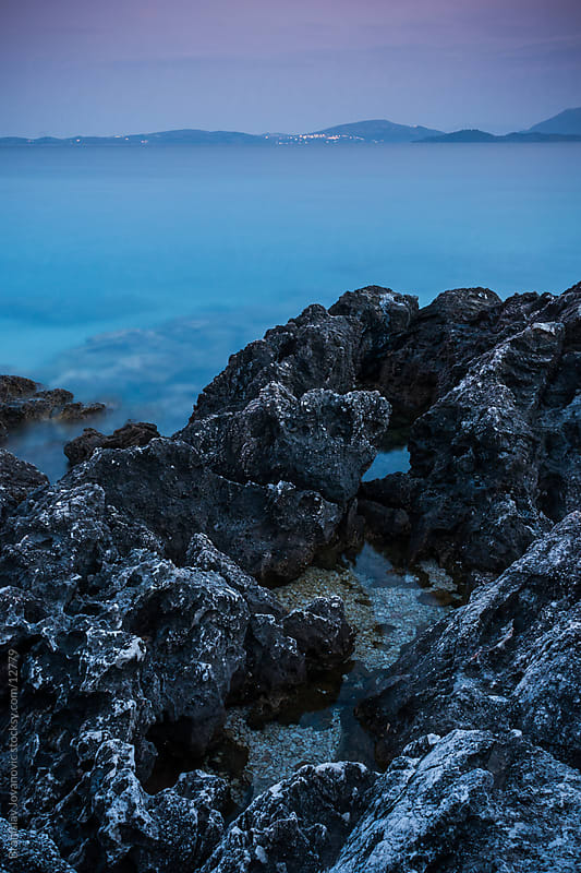 Rock Seascape by Branislav Jovanović for Stocksy United