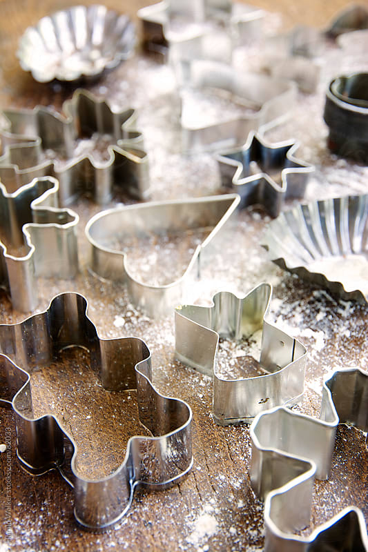 Cookie cutters by Harald Walker for Stocksy United