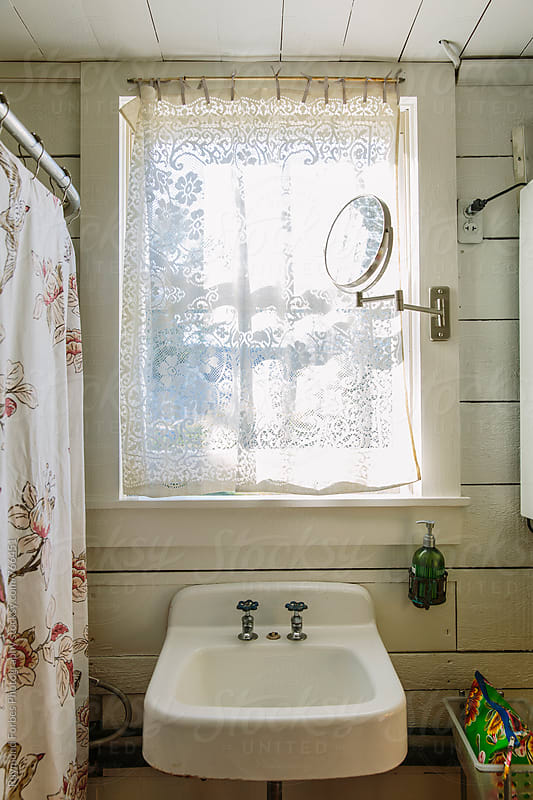 Cottage Bathroom by Raymond Forbes LLC for Stocksy United