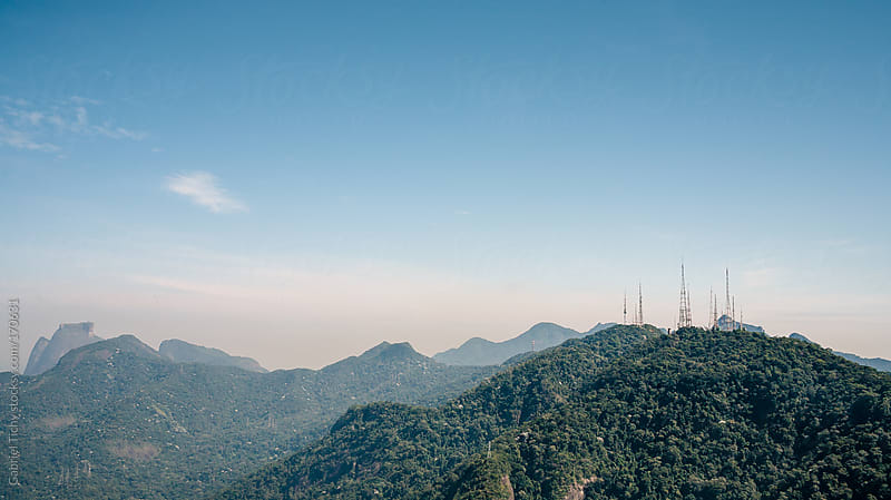 Rio de Janeiro view from Corcovado by Gabriel Tichy for Stocksy United