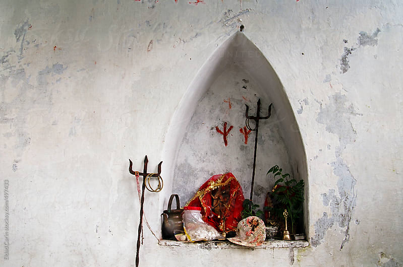 Hindu Shrine's Altar by Eldad Carin for Stocksy United
