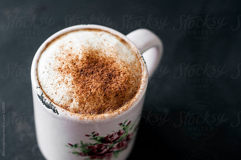 Detail Coffee Mug with Cinnamon by Alie Lengyelova for Stocksy United