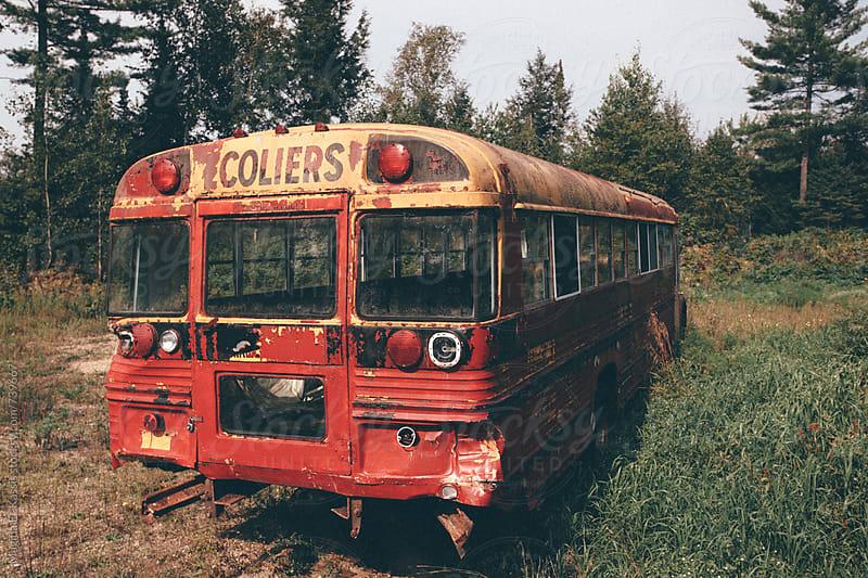bus by Magida El-Kassis for Stocksy United