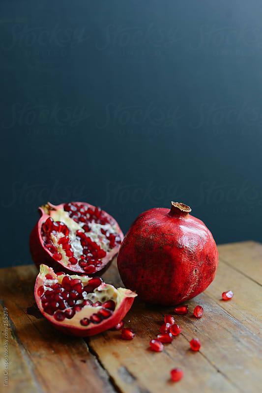 Pomegranate Slices by Tina Crespo for Stocksy United