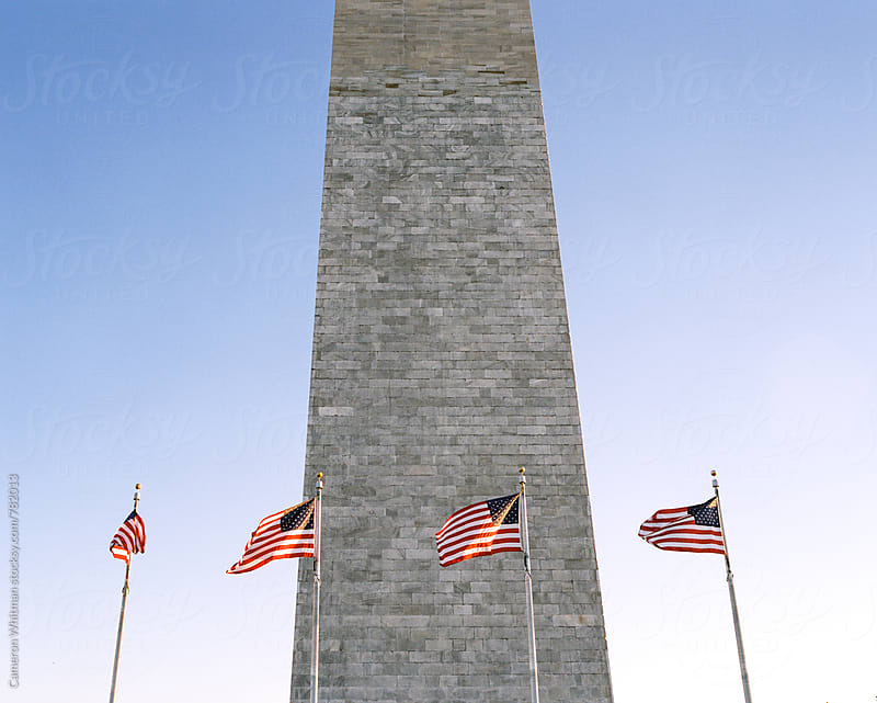 Washington Monument on the National Mall in Washington DC by Cameron Whitman for Stocksy United