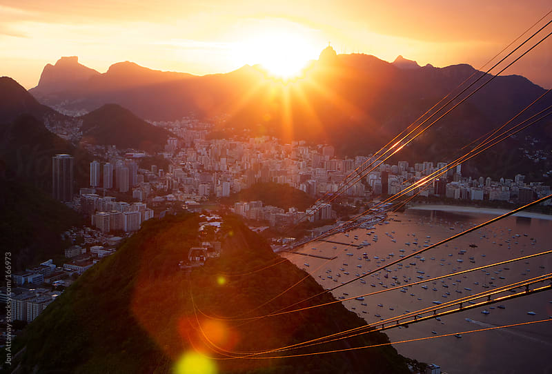 Rio de Janeiro from Sugarloaf Mountain by Jon Attaway for Stocksy United
