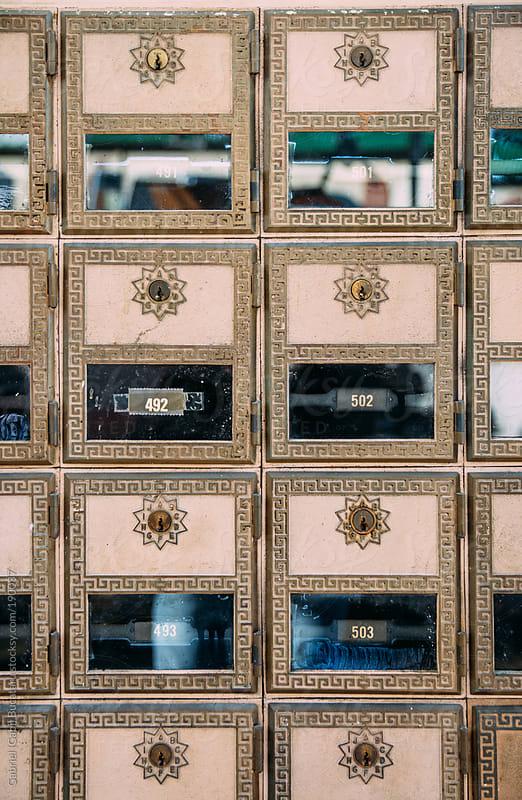 Old Mailboxes by Gabriel (Gabi) Bucataru for Stocksy United