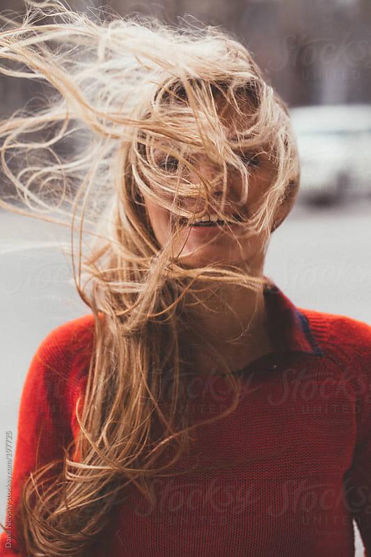 The wind blown femaleha by T-REX & Flower for Stocksy United