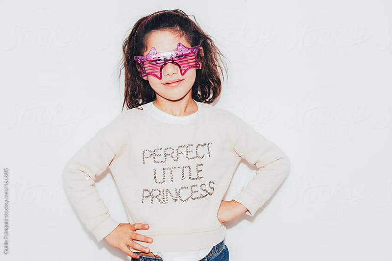 Beautiful perfect little princess by Guille Faingold for Stocksy United